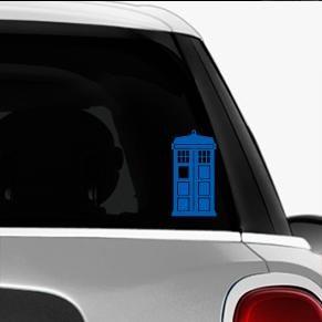 Doctor Who Tardis Automotive Decal/Bumper Sticker LakepointOne.com