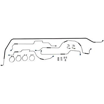 Omix-Ada 16737.08 Steel Brake Line Set