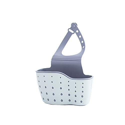 Creaon Storage Bag Durable Rubber Unique Design Large Capacity Kitchen Desktop Storage Basket(Light Blue) -