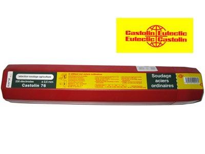 Etui 276 /électrodes acier /Ø 2,5 mm Castolin