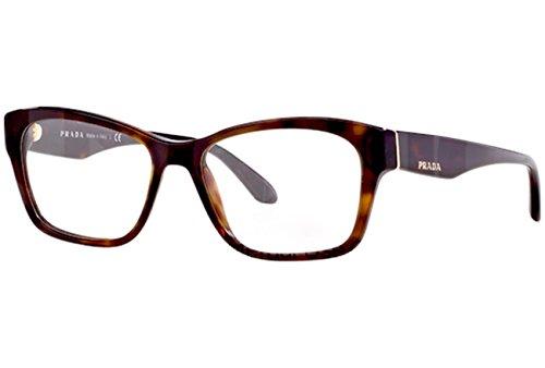 Prada Voice Eyeglasses PR24RV 2AU1O1 Havana 54 16 140 (Prada Voice)