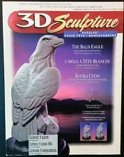 3D Sculpture Puzzle - The American Bald Eagle