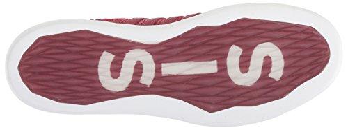 K-swiss Mens Gen-k Icon Sneaker In Maglia Merlot / Bianco