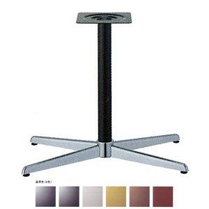 e-kanamono テーブル脚 コルサS3800 ベース680x410 パイプ60.5φ 受座240x240 クローム/塗装パイプ AJ付 高さ700mmまで 黒メラ焼塗装 B012CF4BRS 黒メラ焼塗装 黒メラ焼塗装