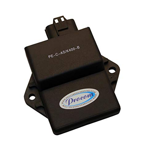 Procom High-Performance Ignition Amplifier Racing Module Add 4HP (Compatible With Kawasaki, Fits 2005-2007 KFX400 / Compatible With Suzuki, Fits 2005-2009 ()