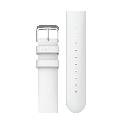 Ticwatch E Ticwatch 2 Silicon Rubber Watch Bands 20mm Accessory Watch Straps Colorful Sports (White)