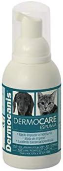 Ecuphar Dermocanis Dermocare Espuma Seca champú para Perros y Gatos