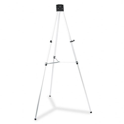 Heavy-Duty Tripod Easel, Adjusts From 38 quot;-66 quot;, Silver