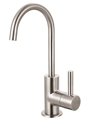 Franke DW13050 Steel Little Butler Single Handle Under Sink Cold Water Filtration Faucet, Stainless Steel