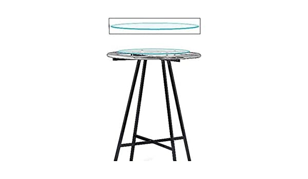Awesome Amazon Com Glass Round Clothing Rack Topper Stor 60123 Alphanode Cool Chair Designs And Ideas Alphanodeonline