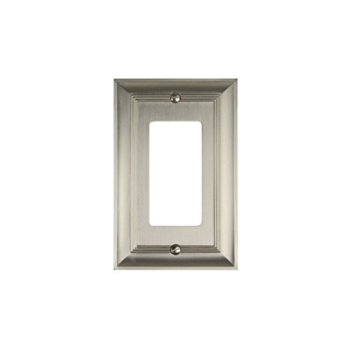 - CKP Brand #31192 Rocker Wall Plate, Brushed Nickel