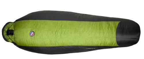 Big Agnes Pomer Hoit SL 0-Degree Sleeping Bags(800 Down fill), Reg Left Zipper, Outdoor Stuffs