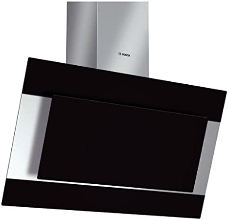 Bosch DWK09M760 Campana extractora de pared, 20 W, 69 Decibelios, Vidrio, 3 Velocidades, Negro, Acero inoxidable: Amazon.es: Hogar