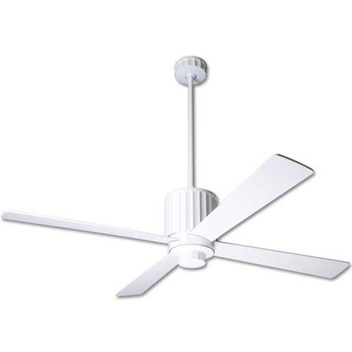- Modern Fan FLU-GW, Flute Gloss White Energy Star 52