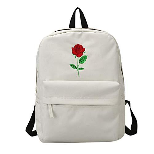 Jikibag Canvas Women Backpack Causal Travel Bags Sunny Letter Printing Teenage Girl School Backpack B02