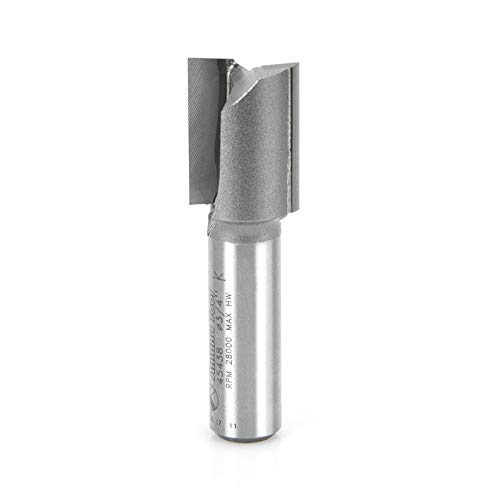 (Amana Tool - 45438 Carbide Tipped Straight Plunge 3/4 Dia x 1