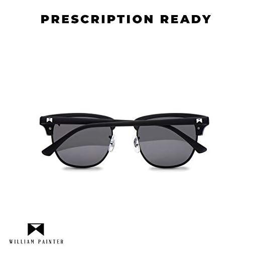 William Painter The Empire Titanium Polarized Sunglasses for Men and Women |