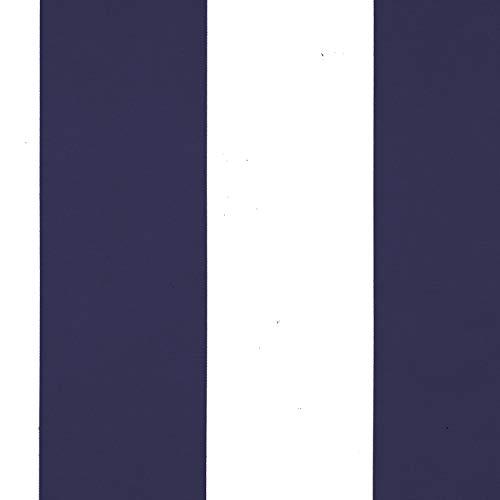 Elrene Highland Stripe Indoor/Outdoor Curtain Panel navy 84 Inches ()