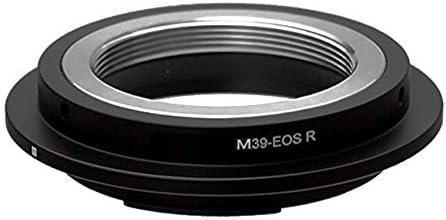M39-RF Objektivadapter M39 L39 Objektiv kompatibel f/ür Canon EOS R Kamera EOSR RF Adapter