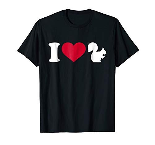 I love squirrel T-Shirt