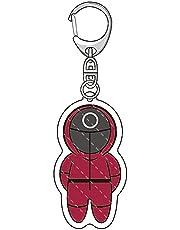 #N/D Inktvis spel sleutelhanger TV inktvis spel pop model hanger rugzak decoratie