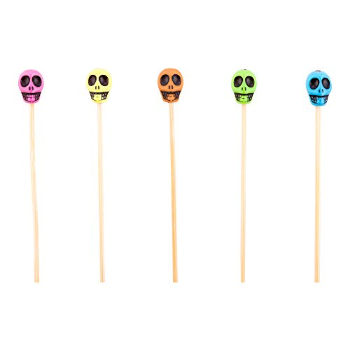 Skull Bamboo Skewer Biodegradable Restaurantware product image