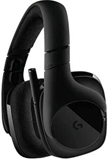 Headset Gamer Sem Fio Logitech G533 7.1 Dolby Surround com Drivers de Áudio Pro-G e Bateria Recarregável