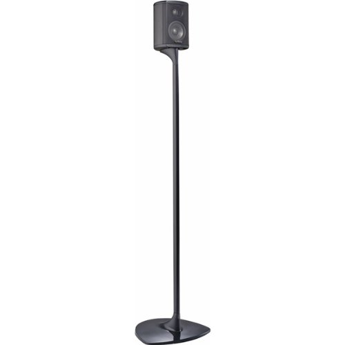 "(1 Pair) 33"" Tall TS-STANDCHR Charcoal Floor Speaker Stands for TSS-750 or TSS-1100"