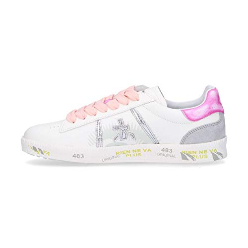 Sneakers Pelle Donna Andy3903 Premiata Bianco 8gq8d