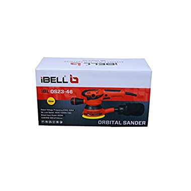 IBELL Random Orbital Sander OS23-46, Watt 300, 125mm, 12000RPM 8