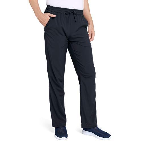 CAMEL Men's Quick-Dry Pants Travel Pants Ultralight Hiking Sweatpants Breathable Camping Sweatpants Summer Black