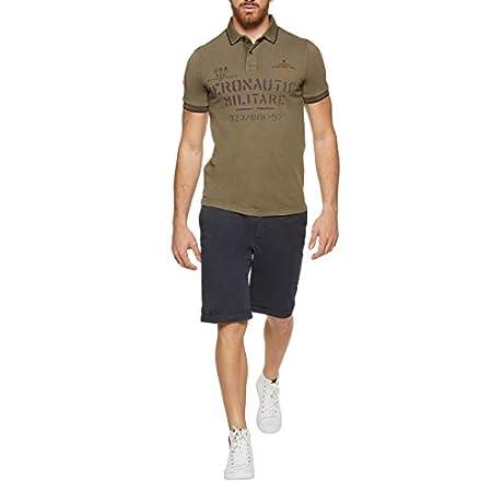 Aeronautica Militare Polo Shirt Homme PO1348 Military, Jersey, Tshirt, Blouson, Sweat, Pantalon 14