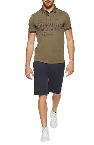 Aeronautica Militare Polo Shirt Homme PO1348 Military, Jersey, Tshirt, Blouson, Sweat, Pantalon 1