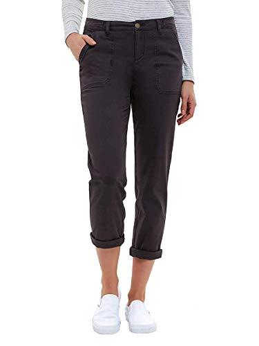 Jones New York Ladies' Chino Pant (10, Charcoal)