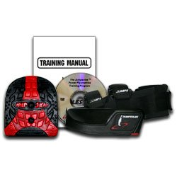 The New JumpSoles Speed and Jump Training System v 5.0 Size: Adult (Jump Training Shoes)