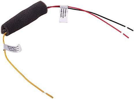 Dasaita 12V DC Power Relay Capacitor Filter Rectifiers for Car Rear View Back Up Camera Aftermarket Reverse Camera