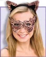 Leopard Headband & Eyemask (Leopard Masks)