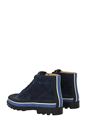 Valentino Suède Garavani Homme Sneakers Eu 2s0966uvs Bleu rwT4rFq