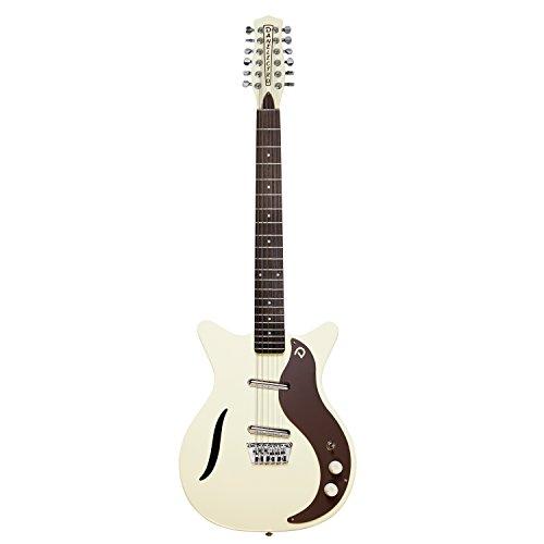 - Danelectro 59 Vintage 12-String Electric Guitar (Vintage White)