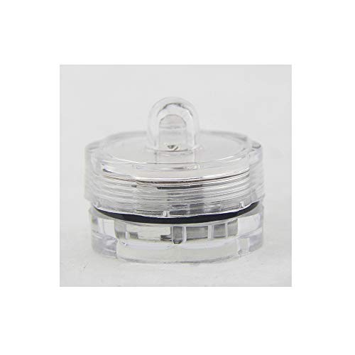 12pcs Super Bright Submersible Waterproof Mini LED Tea Light Candle Lights for Wedding Party Decoration Vase ()