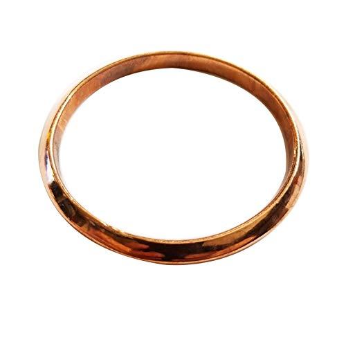 Pure Copper Joint Less Bangle Bracelet 2.5
