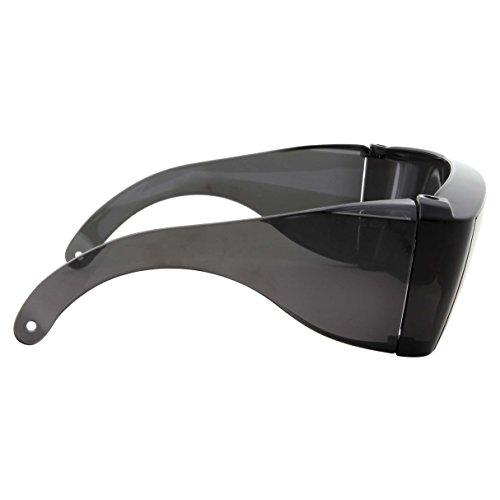 Wrap Around Sunglasses People Who Wear Prescription Glasses in the Sun Cover-Ups Black Fit Over Sunglasses