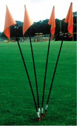 Soccer Field Corner Flags - Set of 4