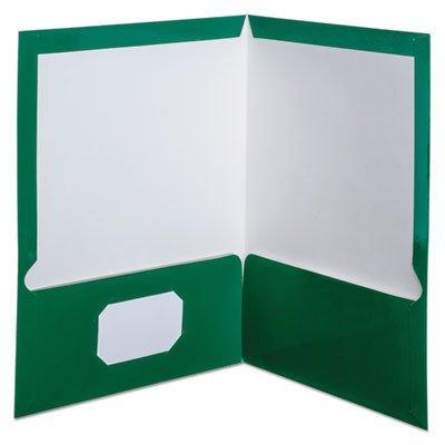 Oxford Laminated 100 Sheet Capacity Two-Pocket Portfolios 25 Count (51704)