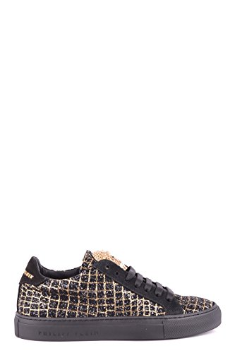 Philipp Plein Vrouwen Mcbi237007o Zwart Suède Sneakers