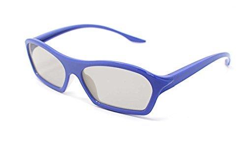 [해외]보라색 성인의 4 쌍 수동적 3D 안경 (필립스) 모든 패시브 TV에 대한 쉬운 3D 스타일 RealD Toshiba와 같은 시네마 및 프로젝터 LG 파나소닉 및/4 Pairs of Purple Adults Passive 3D Glasses in Phillips Easy 3D style for all Passive TVs Cinema...