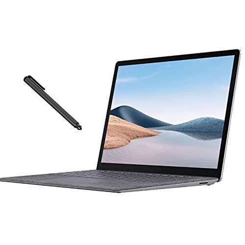 Surface Laptop 4 13.5″ Touchscreen Laptop Platinum, AMD 6-Core Ryzen 5 4680U (Beat i7-1065G7), 8GB RAM, 256GB SSD, Backlit, USB-C, Wi-Fi 6, Mytrix Digital Pen