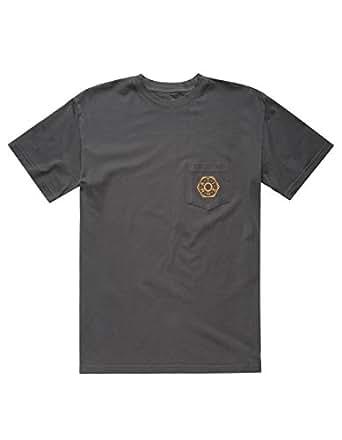 Matix Mens Loose Nut Short-Sleeve Shirt Large Black