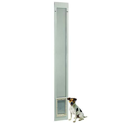 """Fast Fit Pet Patio Door 96"""" Medium (White)"""