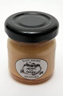 product image for East Shore Sweet and Tangy Mini Mustard, 1.4 Ounce -- 36 per case.